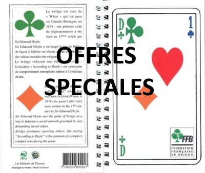 OFFRES SPECIALES - PROMOTIONS